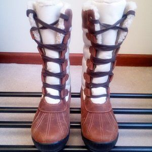 TIMBERLAND Women MT Hayes Tall Leather Boots NEW